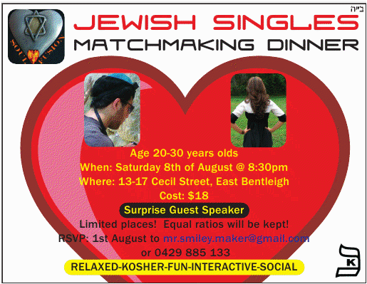 uzventis jewish singles Browse profiles & photos of jewish singles try jewish dating from matchcom join matchcom, the leader in online dating with more dates, more relationships and more marriages than any other dating site.